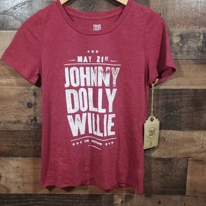 True craft NWT Johnny, Dolly, Willie graphic